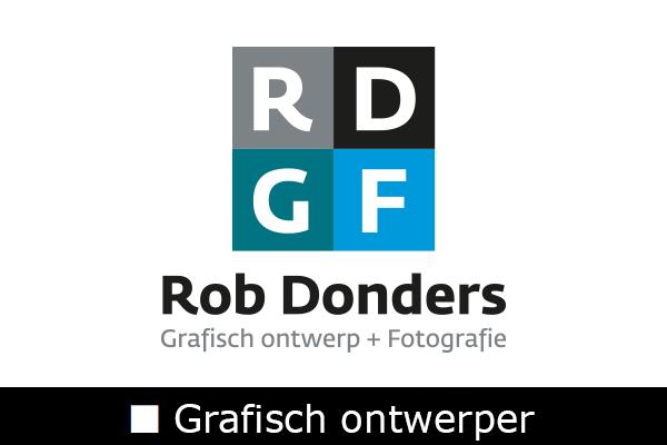 Logo Rob Donders Grafisch Ontwerper