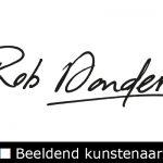 Logo Rob Donders Beeldend Kunstenaar